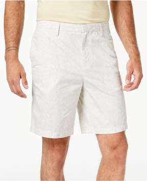 DKNY Men's Light Stripe Print Relaxed Fit Shorts