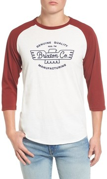 Brixton Men's Concord Baseball T-Shirt