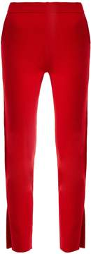 Allude Slit-cuff cashmere trousers