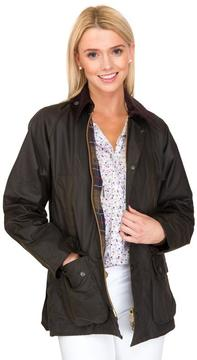 Barbour Women's Olive Classic Bedale Wax Jacket