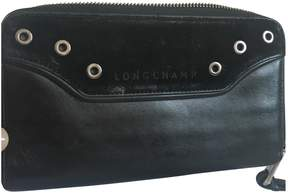 Longchamp Leather wallet - BLACK - STYLE