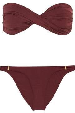 Melissa Odabash Martinique Twisted Bandeau Bikini