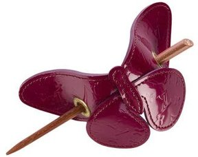Louis Vuitton Vernis Butterfly Hair Pin