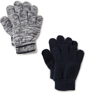 Class Club 2-Pack Solid/Space-Dye Glove Set