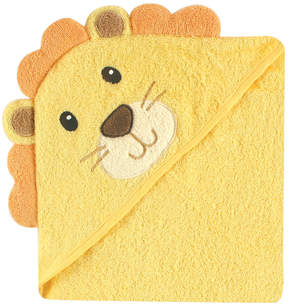 Luvable Friends Yellow & Orange Lion Face Hooded Towel