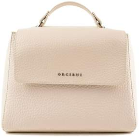Orciani Spa Logo Shoulder Bag