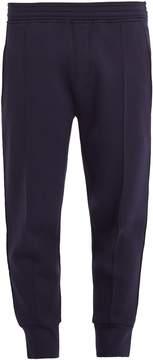 Neil Barrett Tapered-leg contrast-stripe jersey track pants