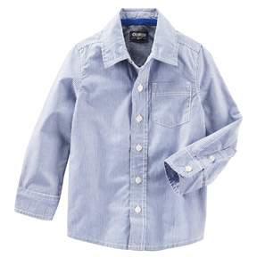 Osh Kosh Boys 4-8 Button-Front Shirt