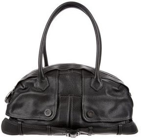 Jean Paul Gaultier Leather Trench Bag