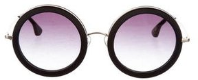 Alice + Olivia Beverly Round Sunglasses