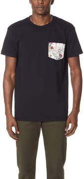 Naked & Famous Denim Botanical Pocket T-Shirt