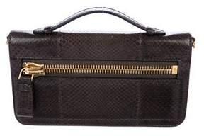 Tom Ford Snakeskin Handle Bag