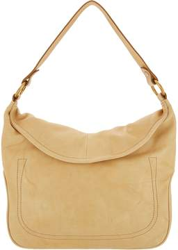 Frye Leather Campus Rivet Hobo Handbag