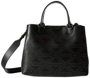 Emporio Armani Shopping Vacchetta+Borchie - Medium Shopping