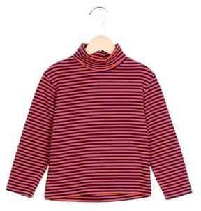 Oscar de la Renta Boys' Striped Turtleneck Shirt