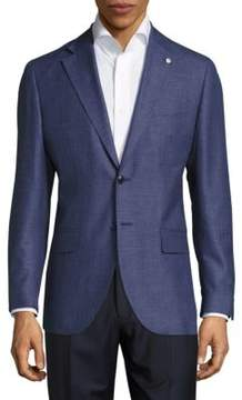 Lubiam Wool-Blend Textured Sportcoat