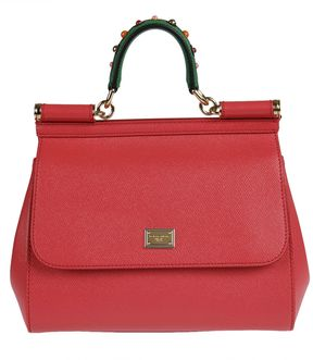 Dolce & Gabbana Sicily Tote - RED - STYLE