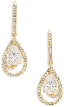 Adriana Orsini Women's Faceted Cubic Zirconia Drop Earrings