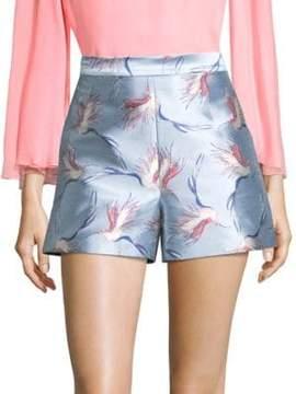 Alice + Olivia Heath Printed Shorts