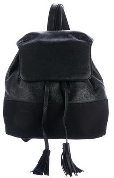 Rebecca Minkoff Mansfield Leather Backpack - BLACK - STYLE