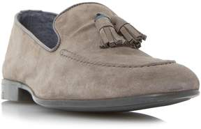 Dune London REMMY - GREY Suede Tassel Loafer