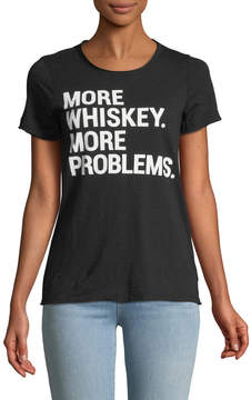 Chaser Whiskey Problems Crewneck Tee