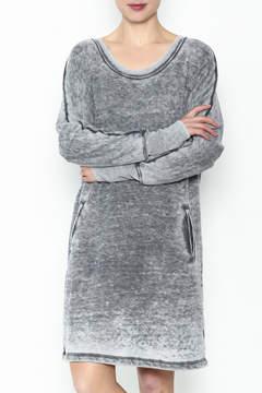 Allen Allen French Terry Dress