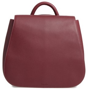 Steven Alan Kate Convertible Leather Backpack - Red
