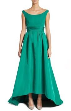 Carolina Herrera Women's Off The Shoulder Silk Faille Gown
