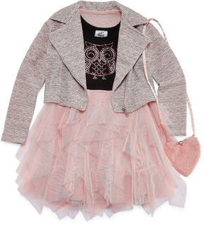 Knitworks Knit Works Jacket Dress Preschool Girls