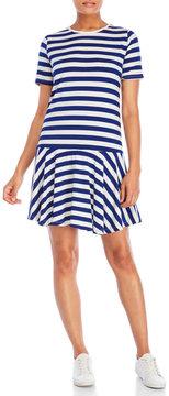 Bench Striped Jersey T-Shirt Dress