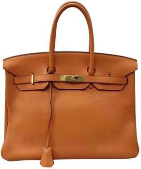 Hermes Birkin leather handbag - ORANGE - STYLE