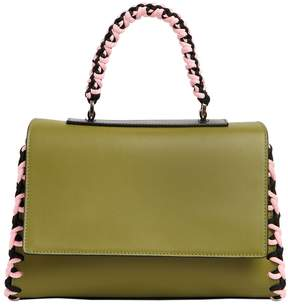 Emilio Pucci Small Jane Twisted Details Leather Bag