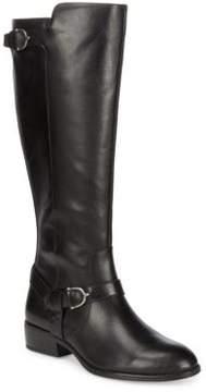 Lauren Ralph Lauren Margarite Leather Tall Boots