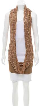 CNC Costume National Embellished Distressed Top