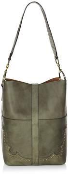 Frye Women's Ilana Western Leather Bucket Bag