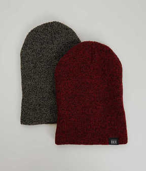 BKE Brock Two Pack Beanies