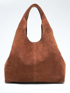 Italian Suede Slouchy Carryall