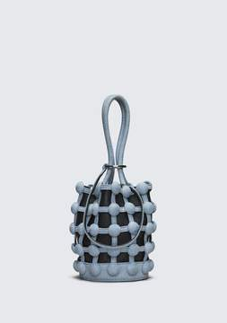 Alexander Wang DENIM ROXY MINI BUCKET