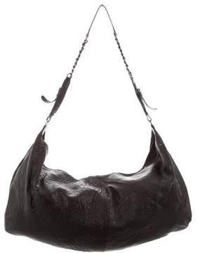 Alice + Olivia Large Pebbled Leather Bag