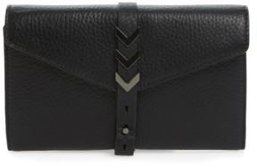 Women's Mackage Atlas Leather Envelope Wallet - Black