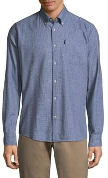 Barbour Micro Tartan Casual Button-Down Shirt