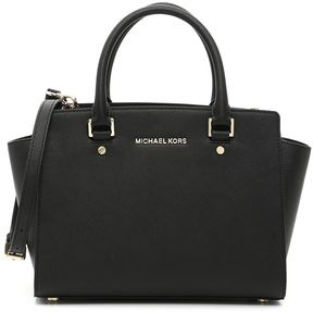 MICHAEL Michael Kors Selma Satchel Bag - BLACK|NERO - STYLE