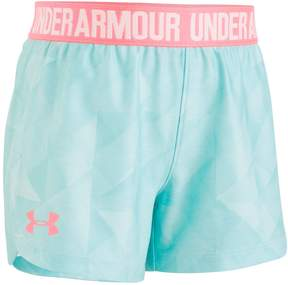 Under Armour Toddler Girl Logo Band Play Up Shorts