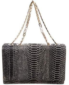 Victoria Beckham Python Hexagonal Chain Bag