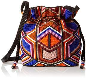 Milly Tribal Beaded Sm Drawstring