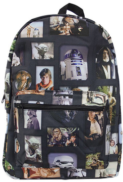 Black Star Wars Backpack