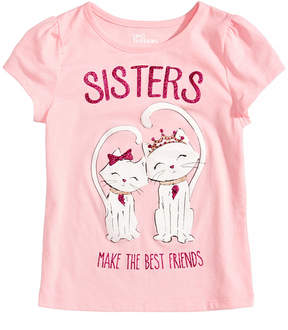 Epic Threads Sisters T-Shirt, Little Girls, Created for Macy's