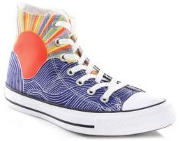 Converse Printed Canvas High-Top Sneakers