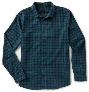 RVCA Slim Fit Hayes Flannel Long-Sleeve Shirt